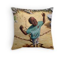 Help Haiti Throw Pillow