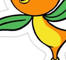 Classic Disney Florida Orange Bird  Sticker