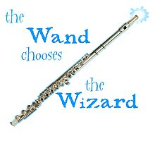 The Flute Chooses the Wizard Photographic Print