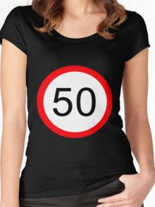 50 Something! Women's Fitted Scoop T-Shirt