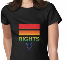 Gay, Lesbian and Trans Equal Rights Womens Fitted T-Shirt