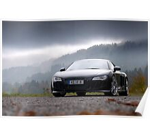 AUDI R8 ABT SUPERCHARGED Poster