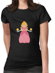 Princess PeachyPoo Womens Fitted T-Shirt
