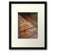 The Crab Trap Framed Print
