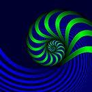 A Twisted Mind by Sandra Bauser Digital Art