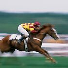 """""""Jockey and Horse in Motion"""" by krod18"""