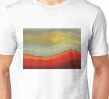 Canyon Outlandish original painting Unisex T-Shirt