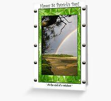 'Luck of the Irish' Greeting Card