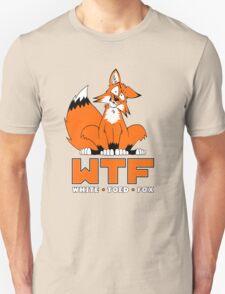 WTF - White Toed Fox Unisex T-Shirt