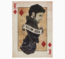 King of Diamonds: Captain Hook by haileyheartless
