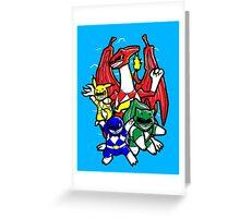 Pokerangers Greeting Card