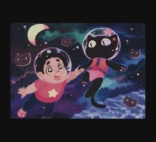 He Left His Family Behind! Steven Universe Cookie Cat T-Shirt