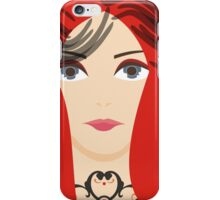 The Red Priestess iPhone Case/Skin