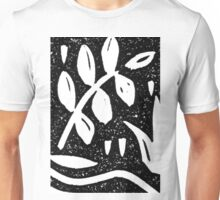 Black and White Garden 1 Unisex T-Shirt