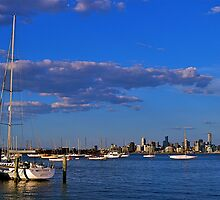 Cityscape...#2,Williamstown,Melbourne,Australia by Max R Daely