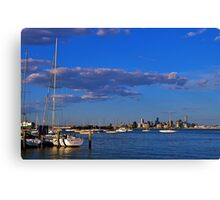 Cityscape...#2,Williamstown,Melbourne,Australia Canvas Print