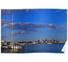 Cityscape...#2,Williamstown,Melbourne,Australia Poster