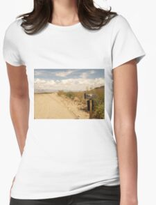 Arizona Country Road Womens Fitted T-Shirt