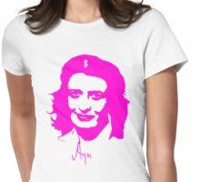 Ayn, revolutionary thinker. Womens Fitted T-Shirt