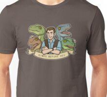 Dinos Before Hos Unisex T-Shirt