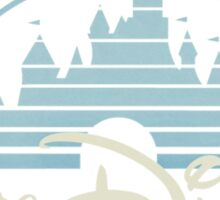 Walt Disney Pictures Castle Logo Sticker