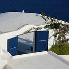 Oia, Island of Santorini, Greece by Aaron Minnick