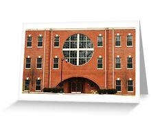 Building in Toledo, Ohio Greeting Card