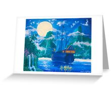 Escape To Neverland Greeting Card