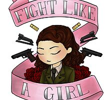 peggy says i am no man (alt. pink design) by rhonnnnie