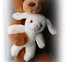 Bear And Rabbit by Jonice