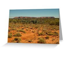 Gosse Bluff, near the West McDonell Ranges,N.T. Greeting Card