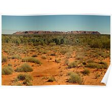 Gosse Bluff, near the West McDonell Ranges,N.T. Poster