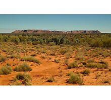 Gosse Bluff, near the West McDonell Ranges,N.T. Photographic Print