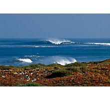 Lonely Mexican Wave Photographic Print