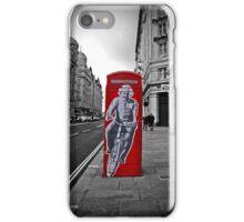 Einstein in London iPhone Case/Skin