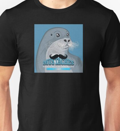 Mustaches: Bearded Seal Unisex T-Shirt