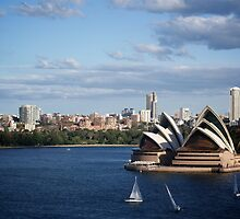 Music on the Harbour - Sydney Opera House by Karl Lindsay