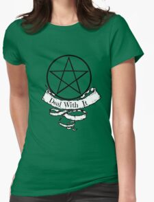 Witchcraft - Deal With It! Womens Fitted T-Shirt