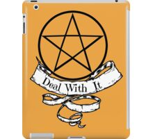 Witchcraft - Deal With It! iPad Case/Skin