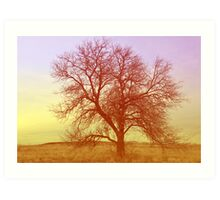 Tree - Saratoga Springs, Utah Art Print