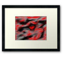 Blurred Emotions Framed Print