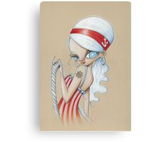 Girl From Every Port Canvas Print