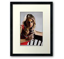 easy connection Framed Print