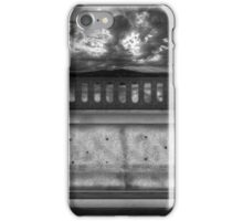 ©DA Sunset On The Wall IA Monochromatic iPhone Case/Skin