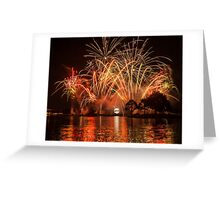 Celebrate! Illuminations Reflections of Earth at Epcot Greeting Card