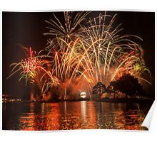 Celebrate! Illuminations Reflections of Earth at Epcot Poster