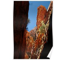 Standley Chasm,N.T. Poster