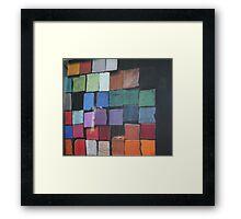 pastels of course Framed Print