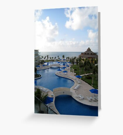A slice of Paradise....... Greeting Card