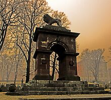 The Old Burying Ground by Cameron  Allen Lamond